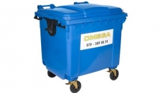 Omega Containers - 1000 liter rolcontainer kunststof PK
