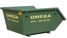 Omega Containers - 3m3 open afzetcontainer