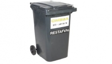 Omega Containers - 360 liter rolcontainer kunststof