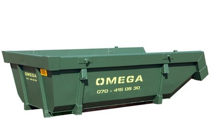 Omega Containers - 6m3 open afzetcontainer