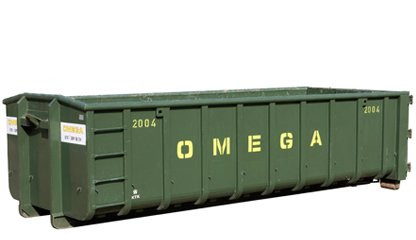 Omega Containers - 20 m3 open afzetcontainer