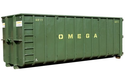 Omega Containers - 25 m3 open afzetcontainer