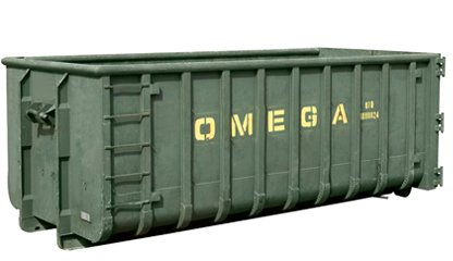 Omega Containers - 40 m3 open afzetcontainer