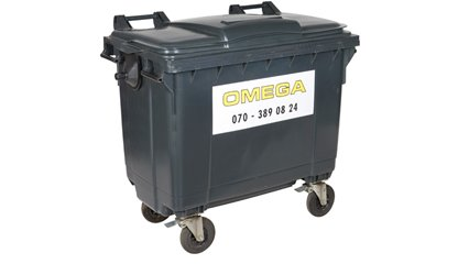 Omega Containers - 500 liter rolcontainer kunststof