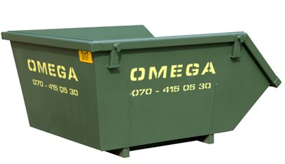 Omega Containers - 3m3 afzetcontainer